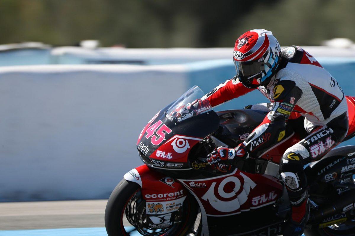 長島選手、猛暑の中Moto2ヘレステストで調整を重ね総合20位