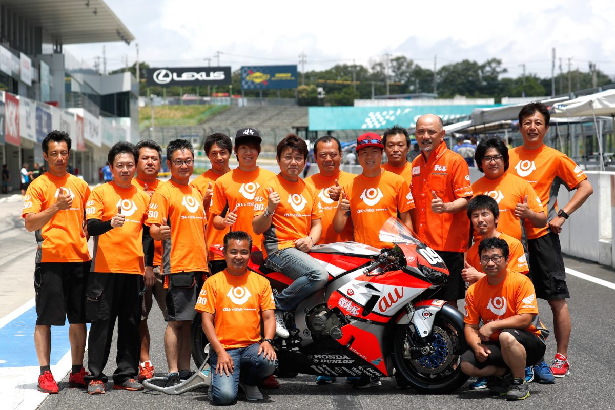鈴鹿8耐合同テストでチームワーク強化