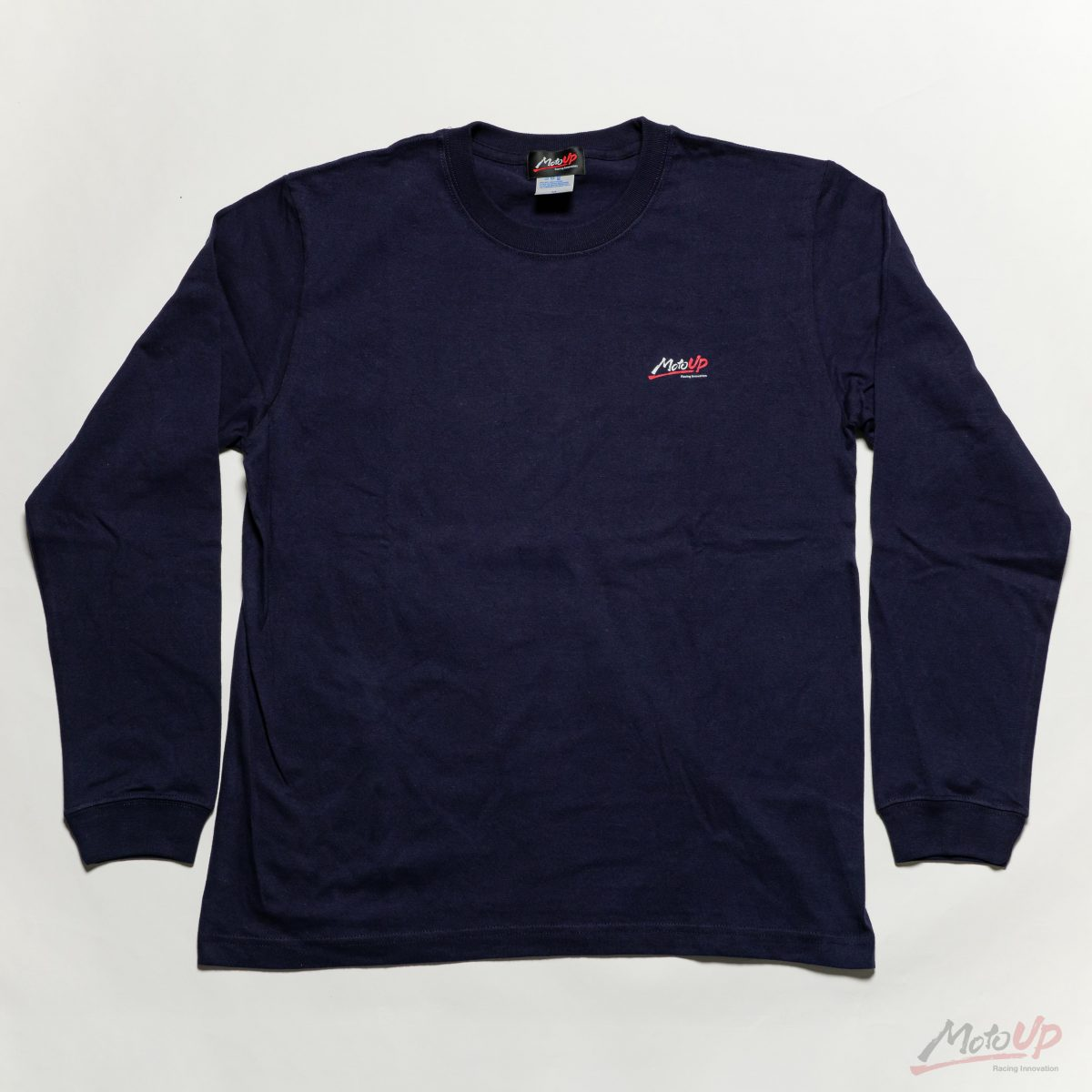 「MotoUP」L/S Print T-shirt