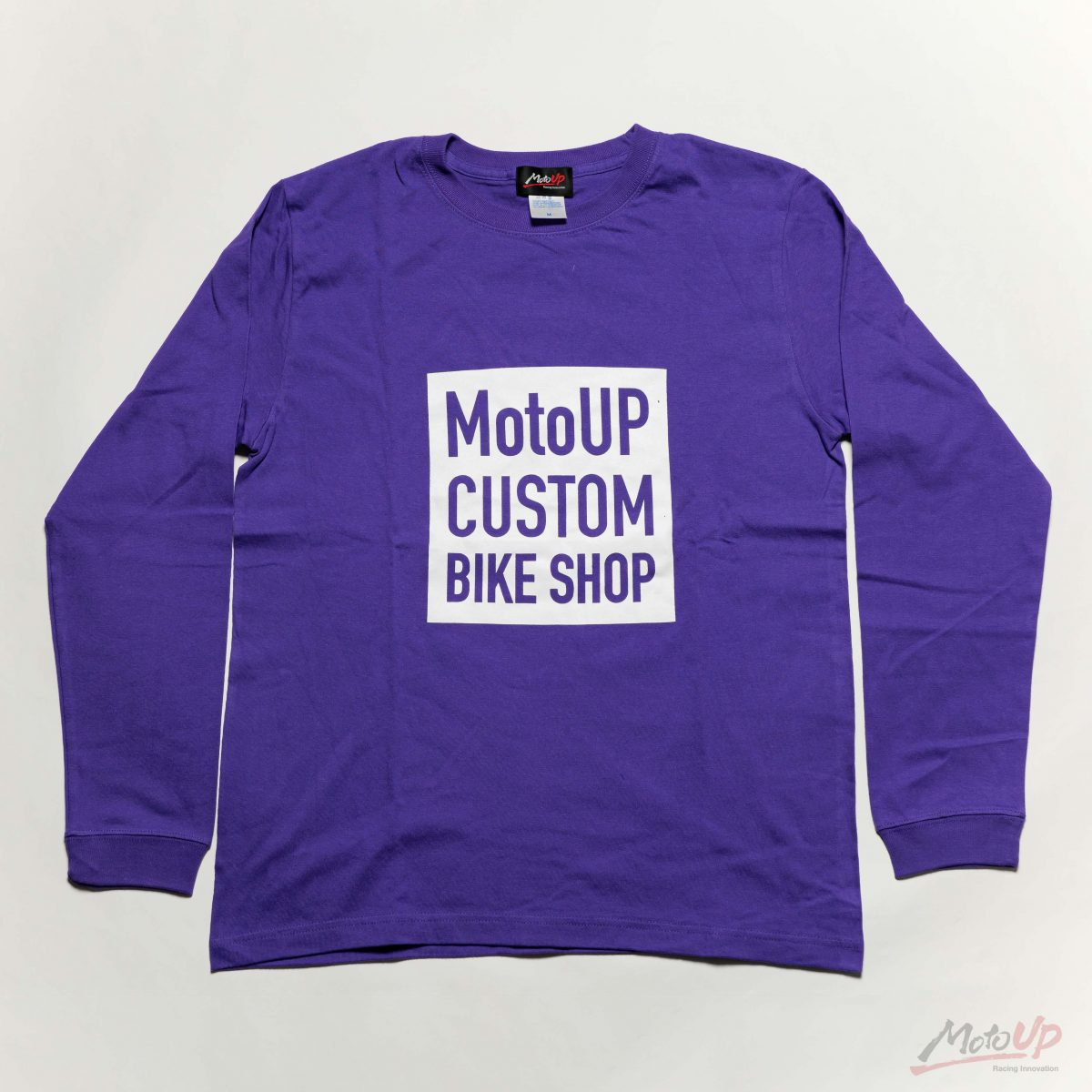 「CUSTOM BIKE SHOP」L/S Print T-shirt