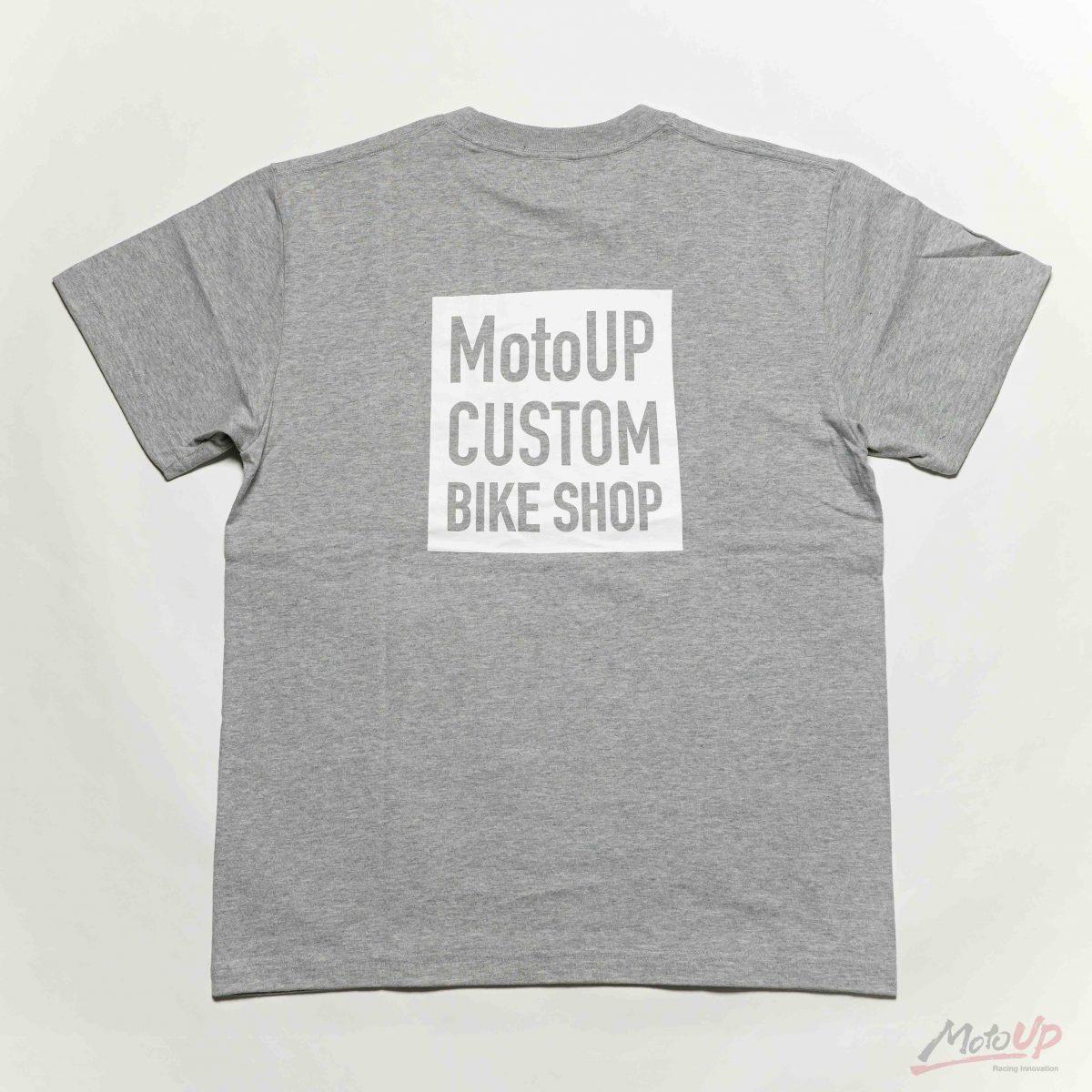 「CUSTOM BIKE SHOP」S/S Cotton Pocket Print T-shirt
